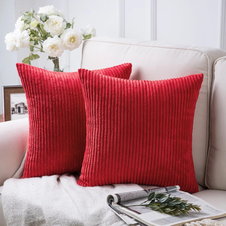 throw pillows red walmart com