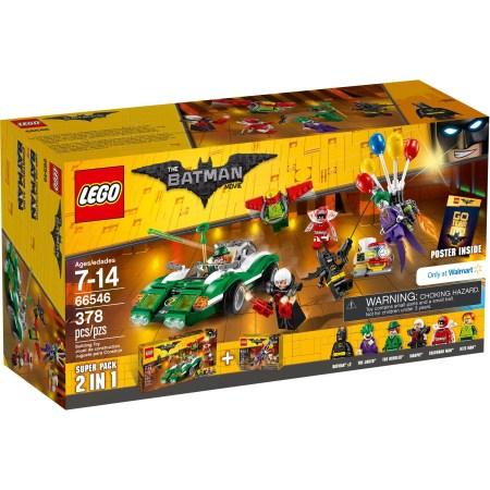 The LEGO Batman Movie - Copack (66546) The Joker Balloon Escape (70900) The Riddler Riddle Racer (70903)
