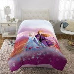 Frozen 2 Bed In A Bag Kids Bedding Bundle Set 4 Piece Twin Walmart Com Walmart Com