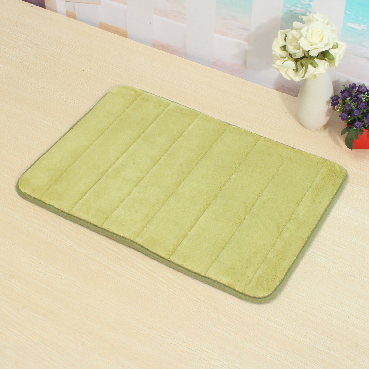20 x32 soft absorbent memory foam mats kitchen bathroom on farmhouse colors for bath mats walmart id=26504