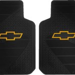 14pc Heavy Duty Rubber Front Rear Floor Mats Steering Black Pink Seat Covers Set For Chevrolet Chevy Factory Style Yellow Bow Tie Car Truck Suv Walmart Com Walmart Com