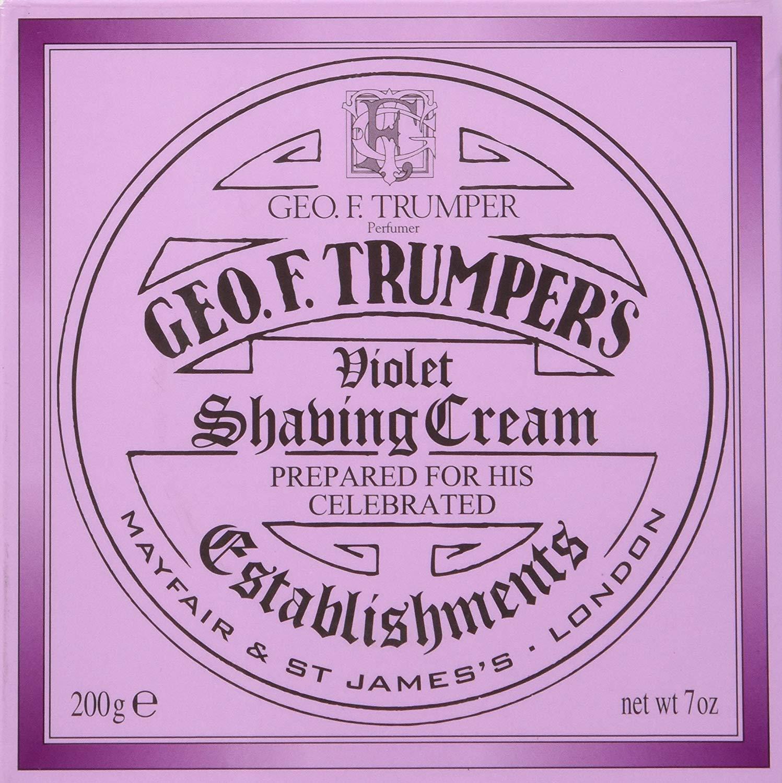 Geo F. Trumper Violet Shaving Cream Jar 200g, 200g By Geo F Trumper