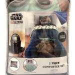 Baby Yoda Twin Full Comforter And Sham Set Walmart Com Walmart Com