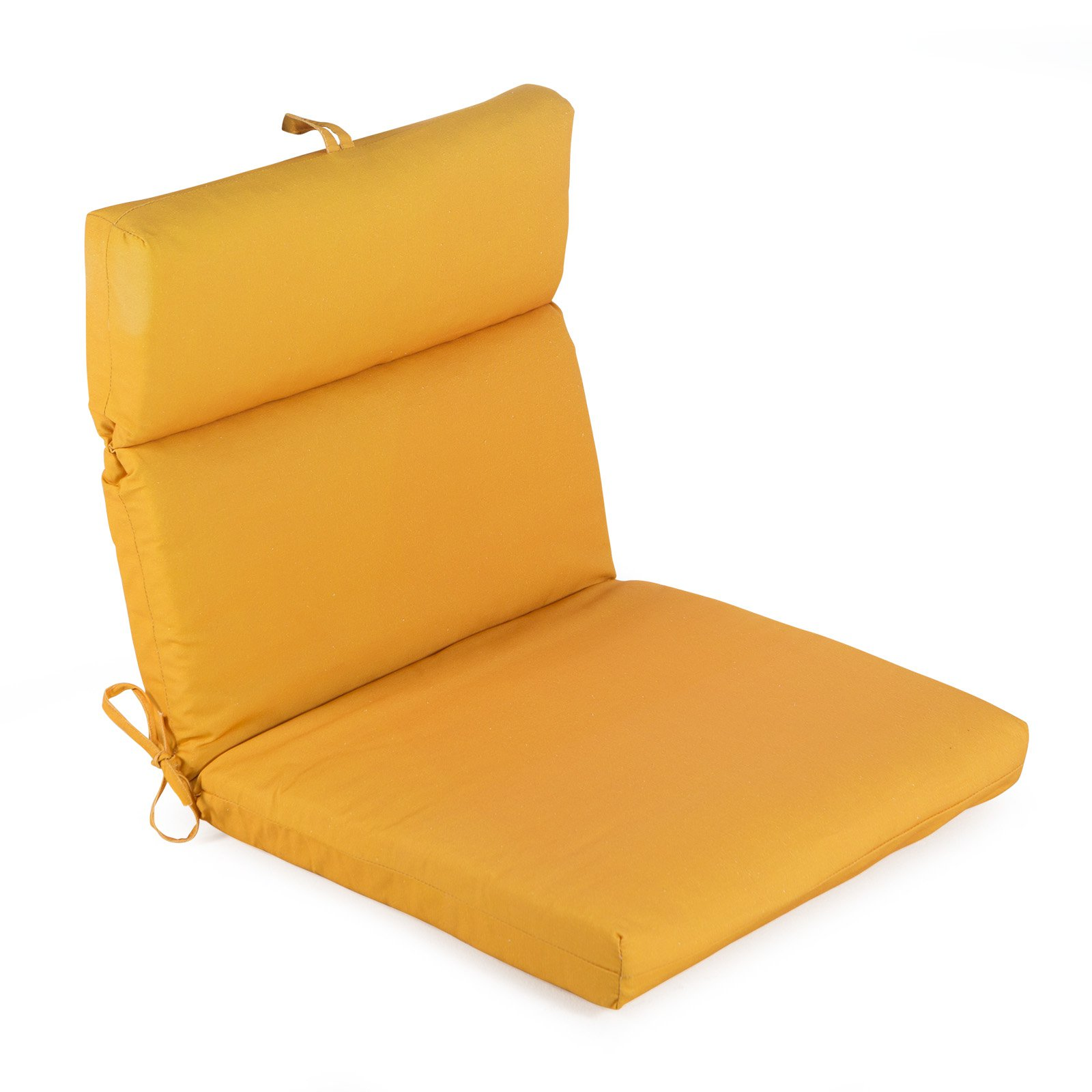 Coral Coast Mid Century Modern French Edge Cartridge Hinged Seat Amp Back Outdoor Chair Cushion Walmart Com Walmart Com