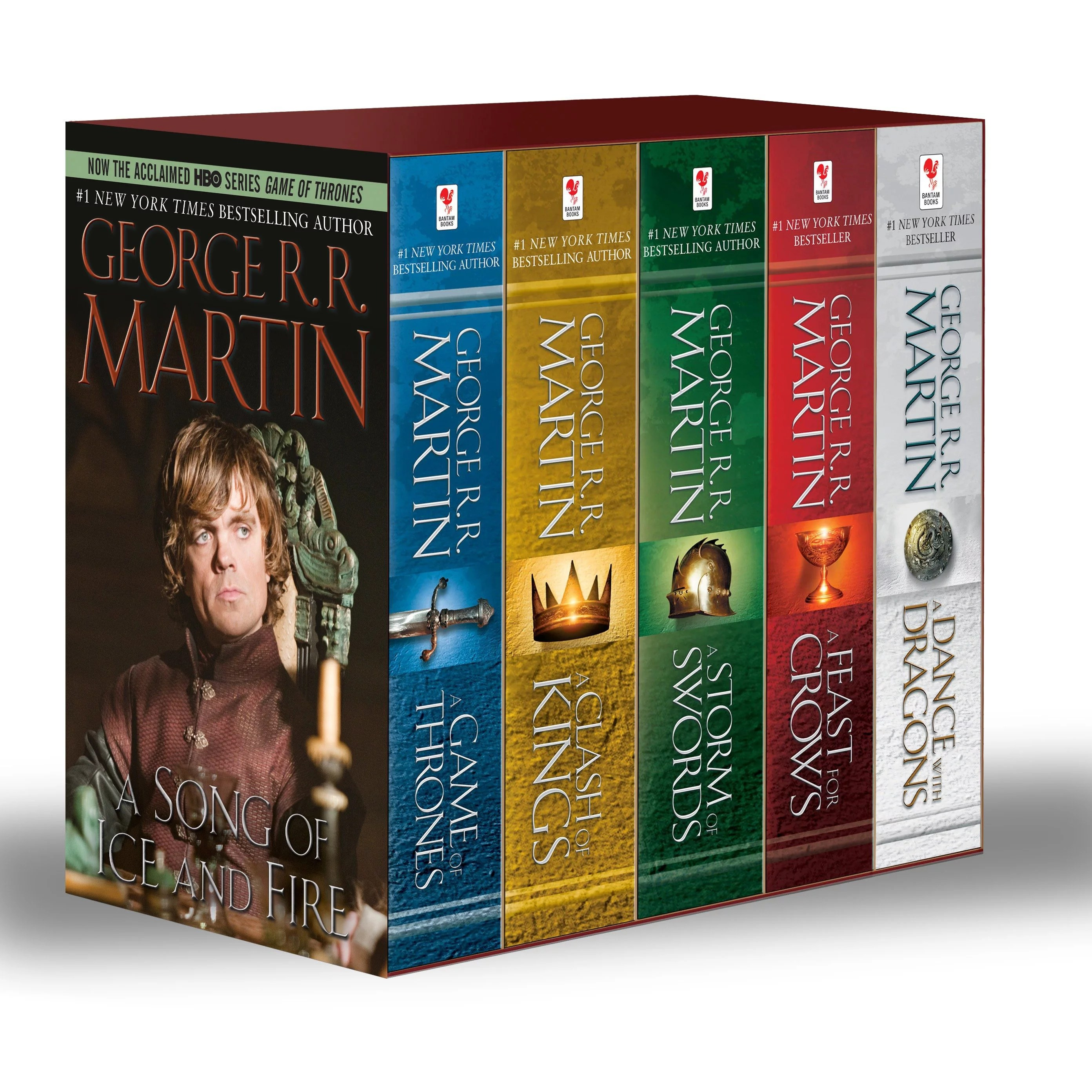 Game of Thrones Paperback Boxed Set (Mass Market Paperback)