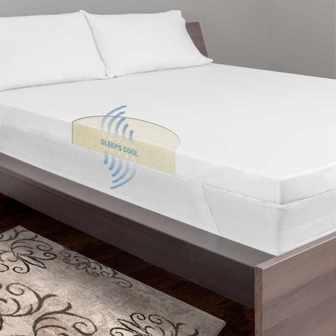 Dream Serenity 3 Cool Breeze Memory Support Mattress Topper