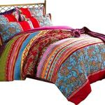 Lelva Boho Style Bedding Set Bohemian Ethnic Style Bedding Set Boho Duvet Cover Set Camel Pattern Bedding Set Queen King 4pcs Walmart Canada