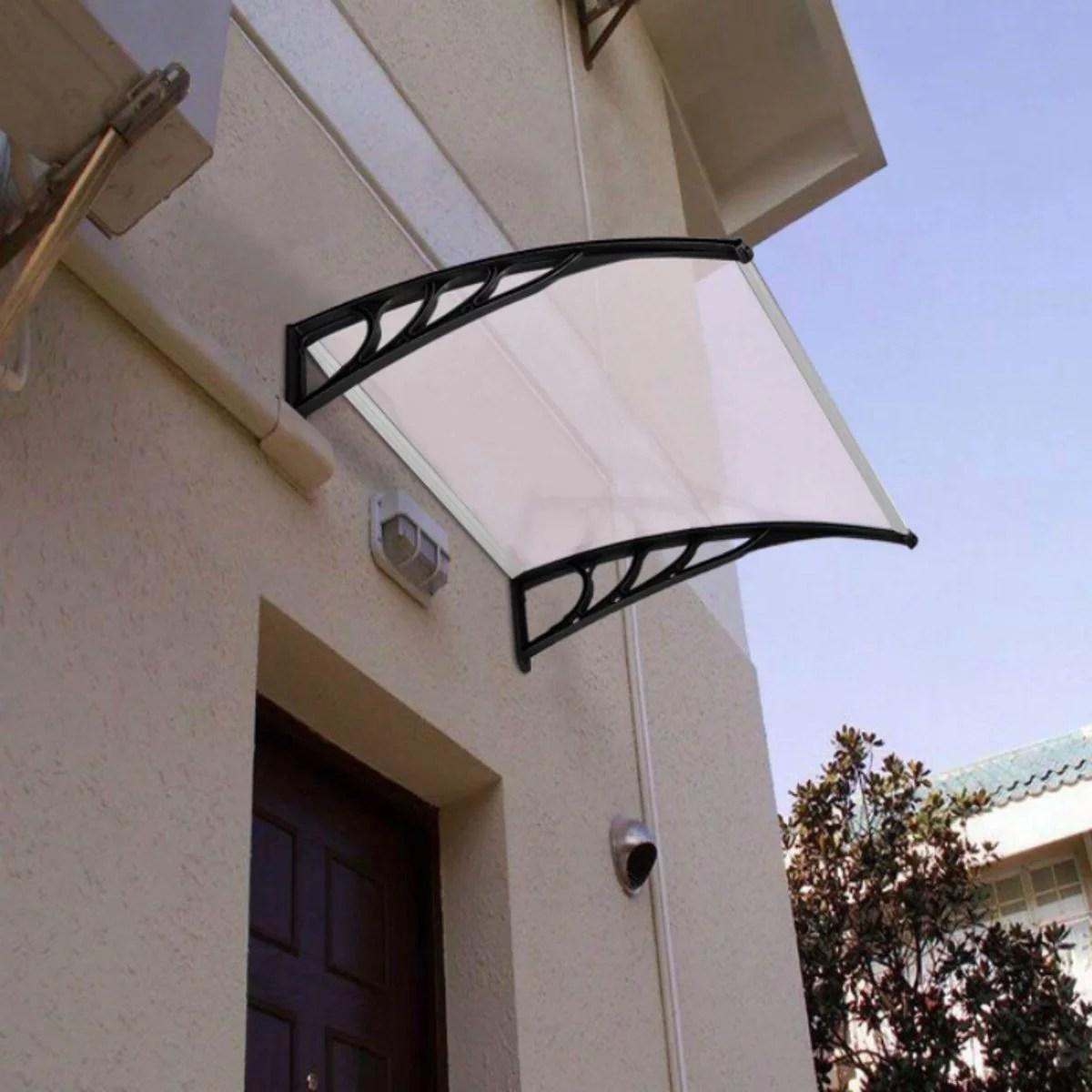 outdoor door window awning canopy shetter patio garden cover sun shade rain snow protection blocker