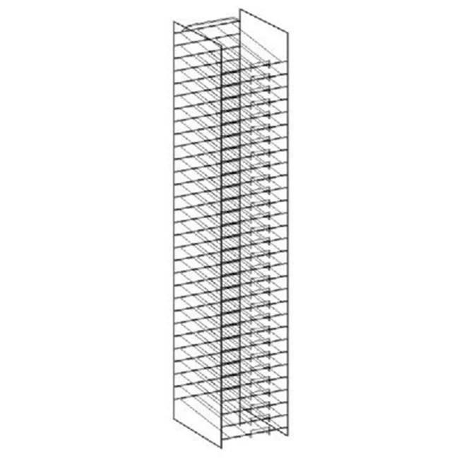 art wire works awwd30 paper display rack 12 x 12 in walmart com