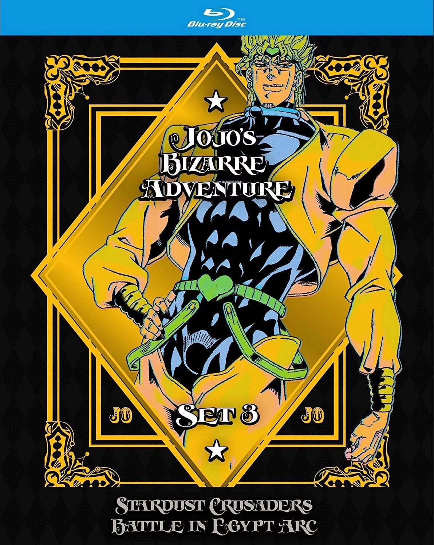 jojo s bizarre adventure set 3 stardust c battle egypt blu ray walmart com