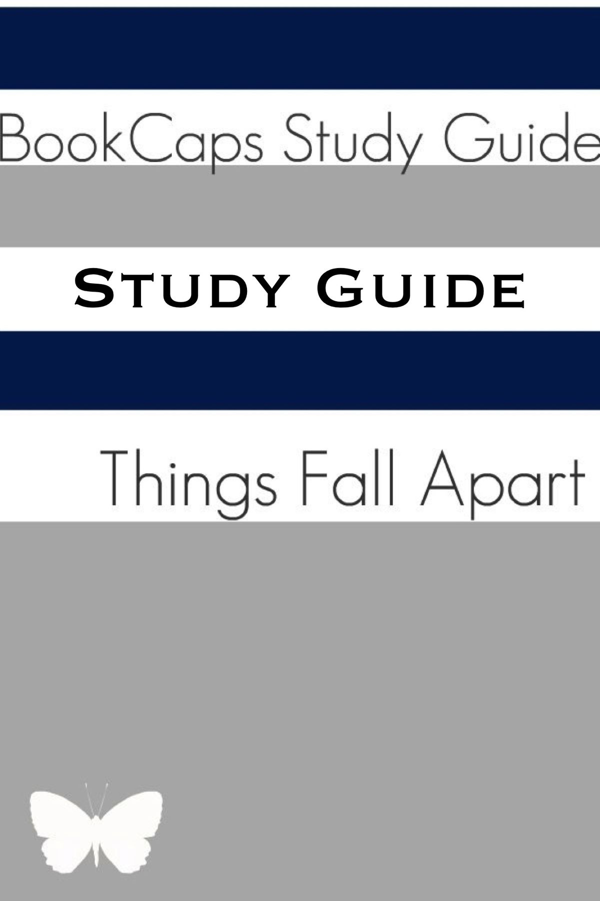 Study Guide Things Fall Apart A Bookcaps Study Guide