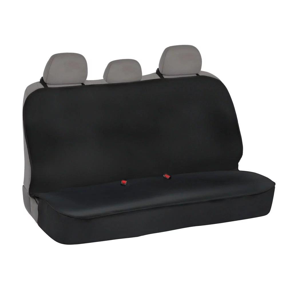 Waterproof Neoprene Full Rear Bench Seat Cover For Car Suv