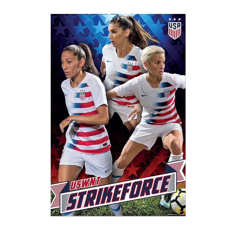 us women s soccer team uswnt strikeforce poster 2019 walmart com