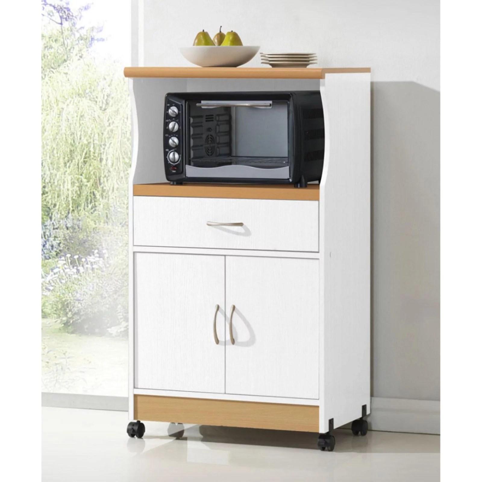 hodedah hik77 microwave cart walmart com