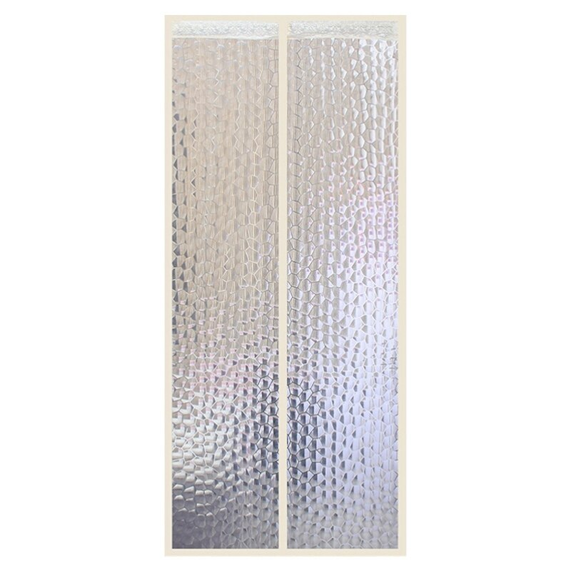 magnetic thermal insulated door curtain for air conditioner room kitchen magnetic screen anti mosquito door