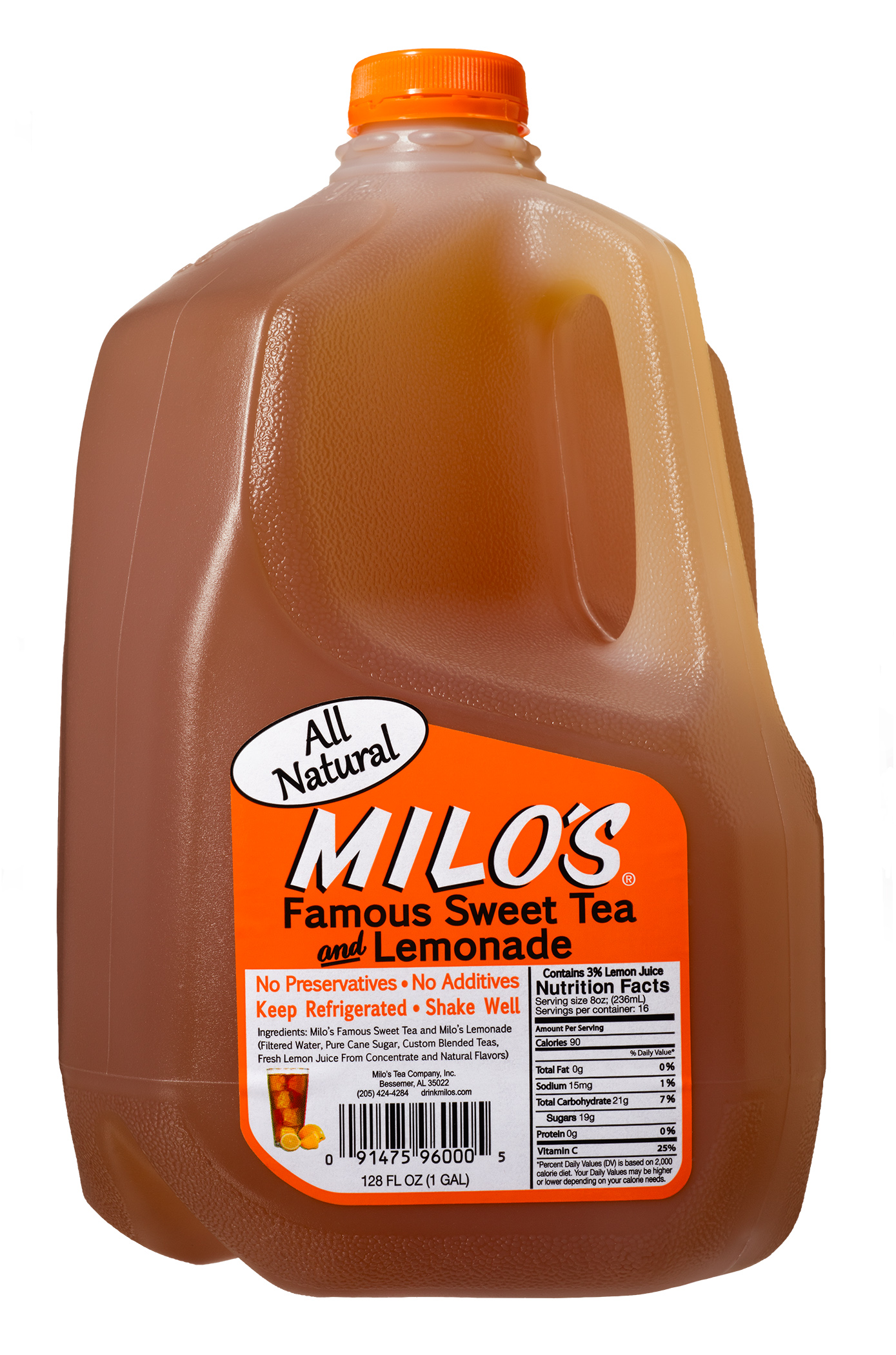 Milo S Sweet Tea Nutrition Facts Nutrition Ftempo