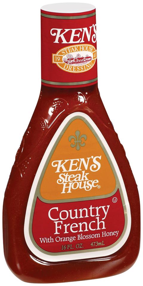 Ken39s Steak House Country French Honey Dressing 16 FL OZ