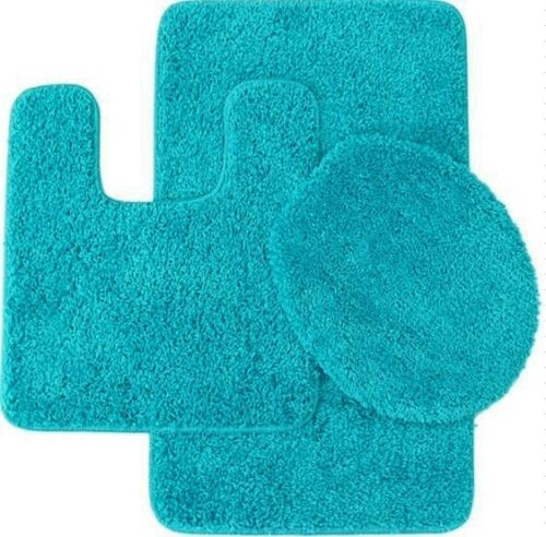 bathroom collection 5 teal aqua clearance last chance on farmhouse colors for bath mats walmart id=97382