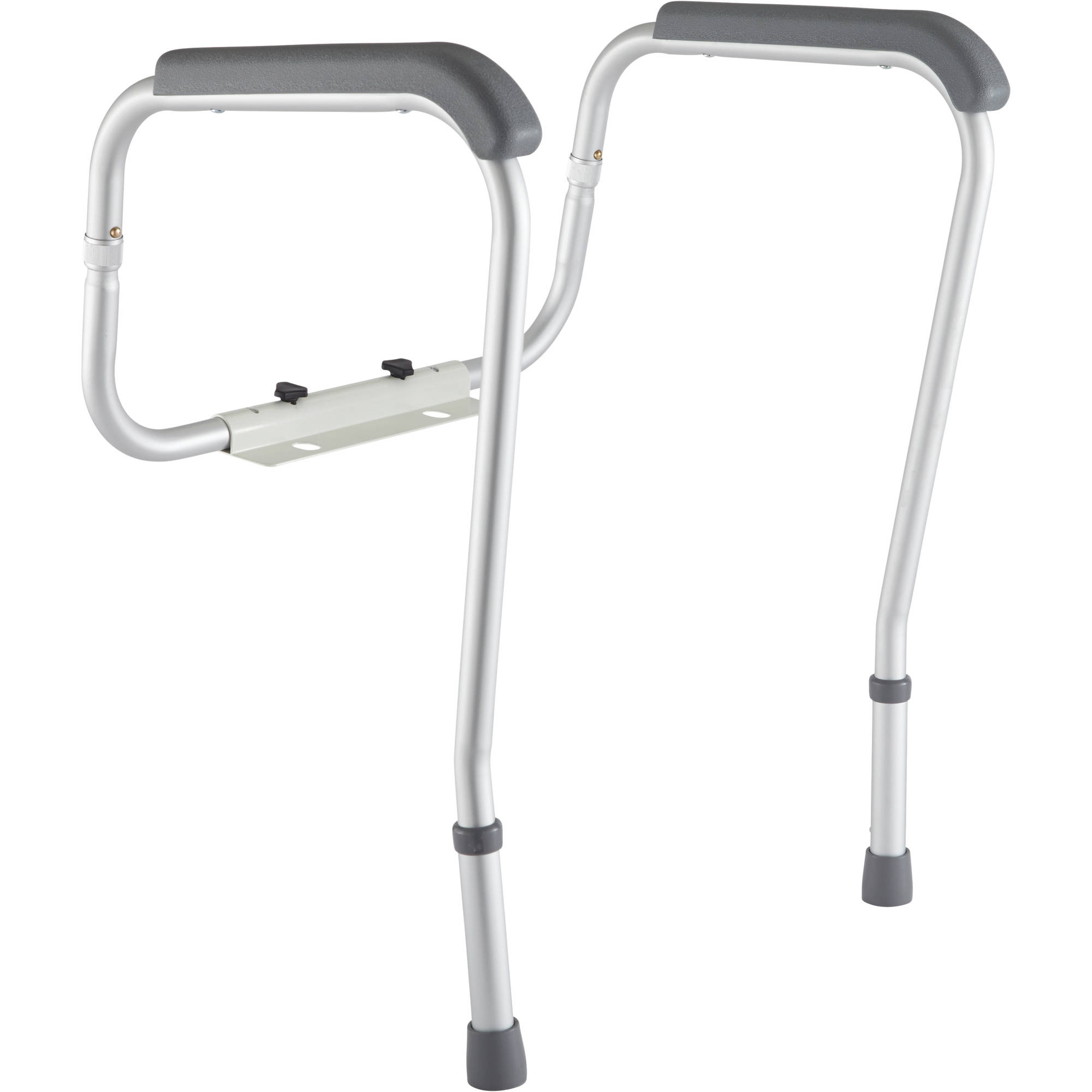 medline toilet safety frame rails - walmart