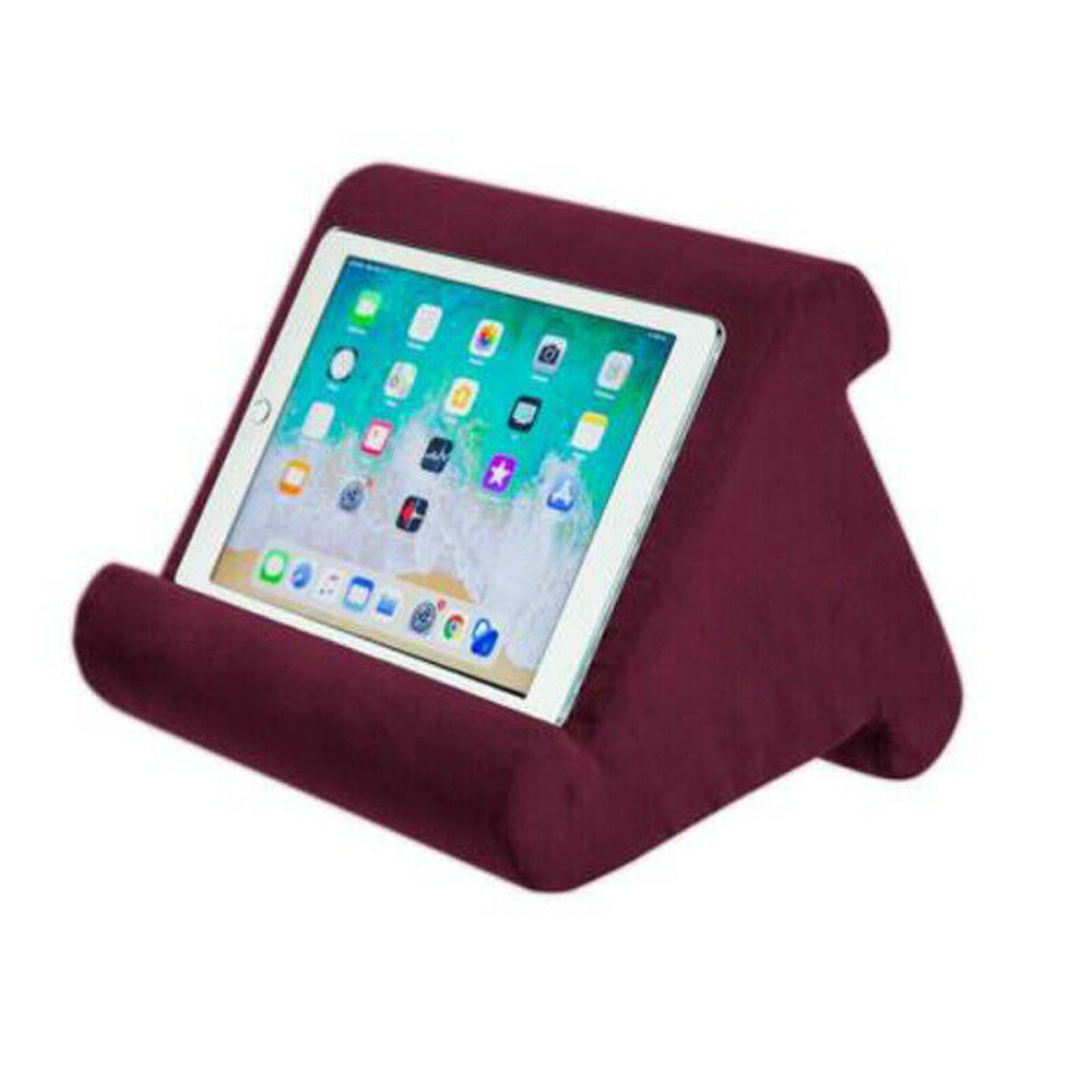 multi angle pillow tablet read holder stand foam lap rest cushion for ipad phone walmart com