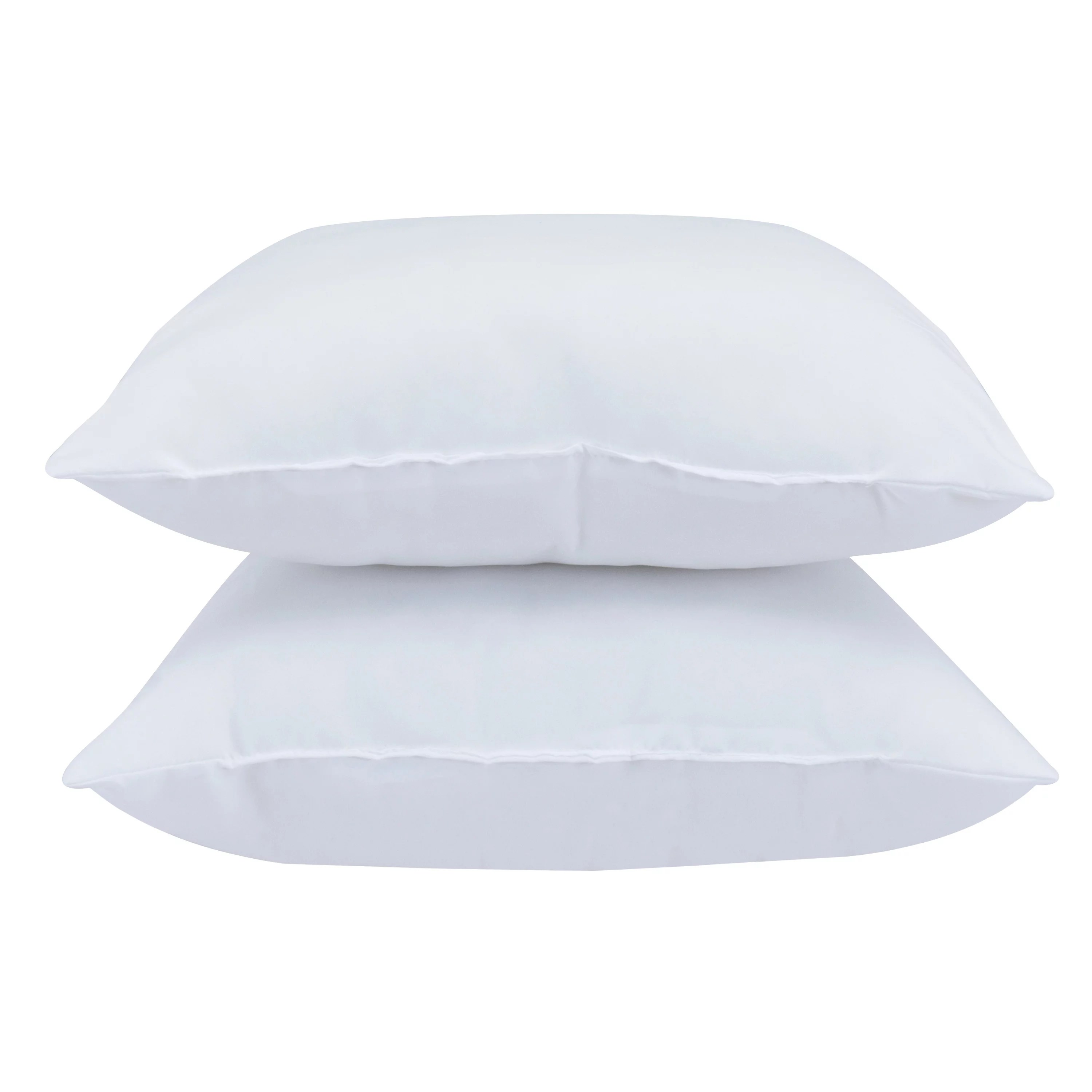 mainstays decorative pillow insert 100 polyester 16 x16 set of 2