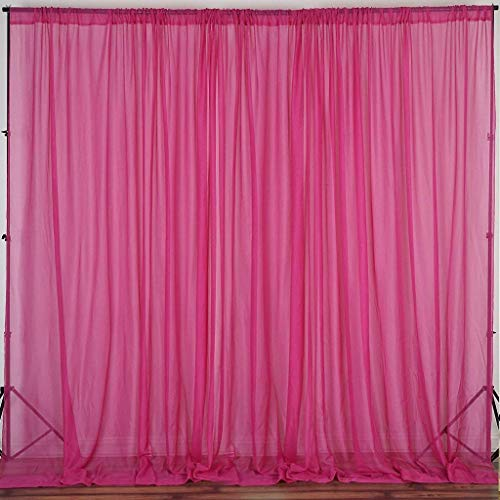 ak trading co 120 wide 10ft wide sheer voile drape panels for backdrop wedding events ceiling drapes event masking decor select from 6ft to