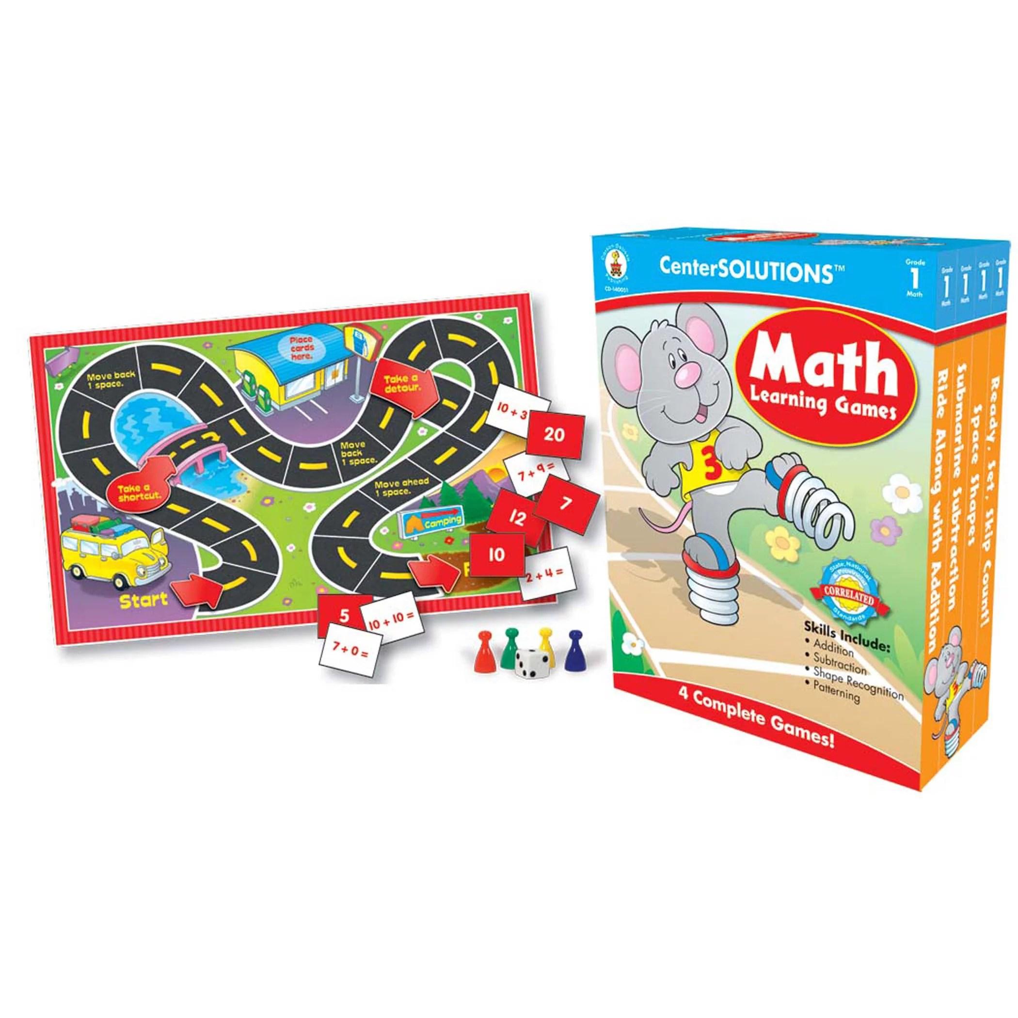 Carson Dellosa Education Centersolutions Math Learning