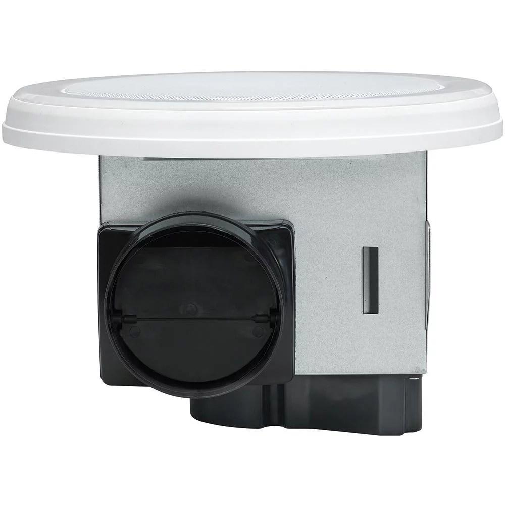 home netwerks 80 cfm ceiling mount bluetooth speaker bathroom fan led new