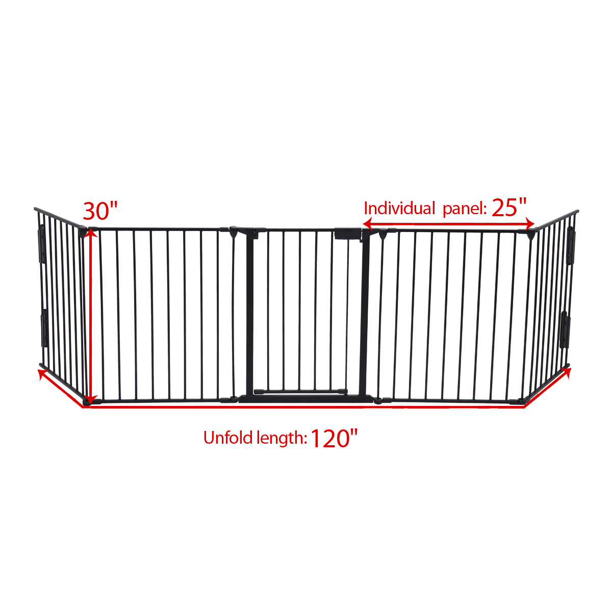 Fireplace Fence Baby Safety Fence Hearth Or Pet Gate Guard