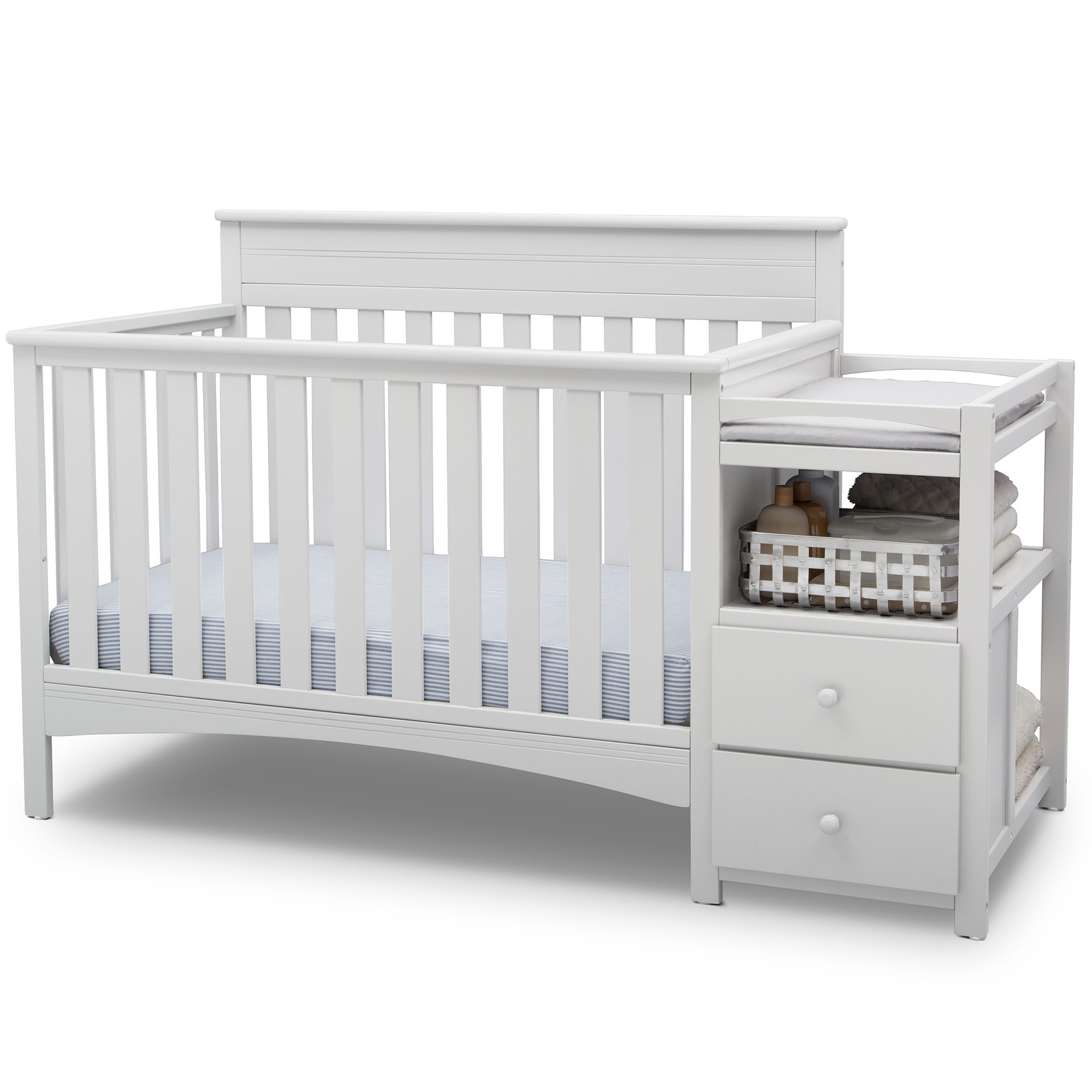 delta children crib changer combos