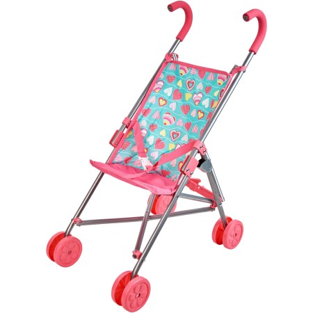 "My sweet love umbrella stroller for dolls up to 18"", designed for ages 2 and up"