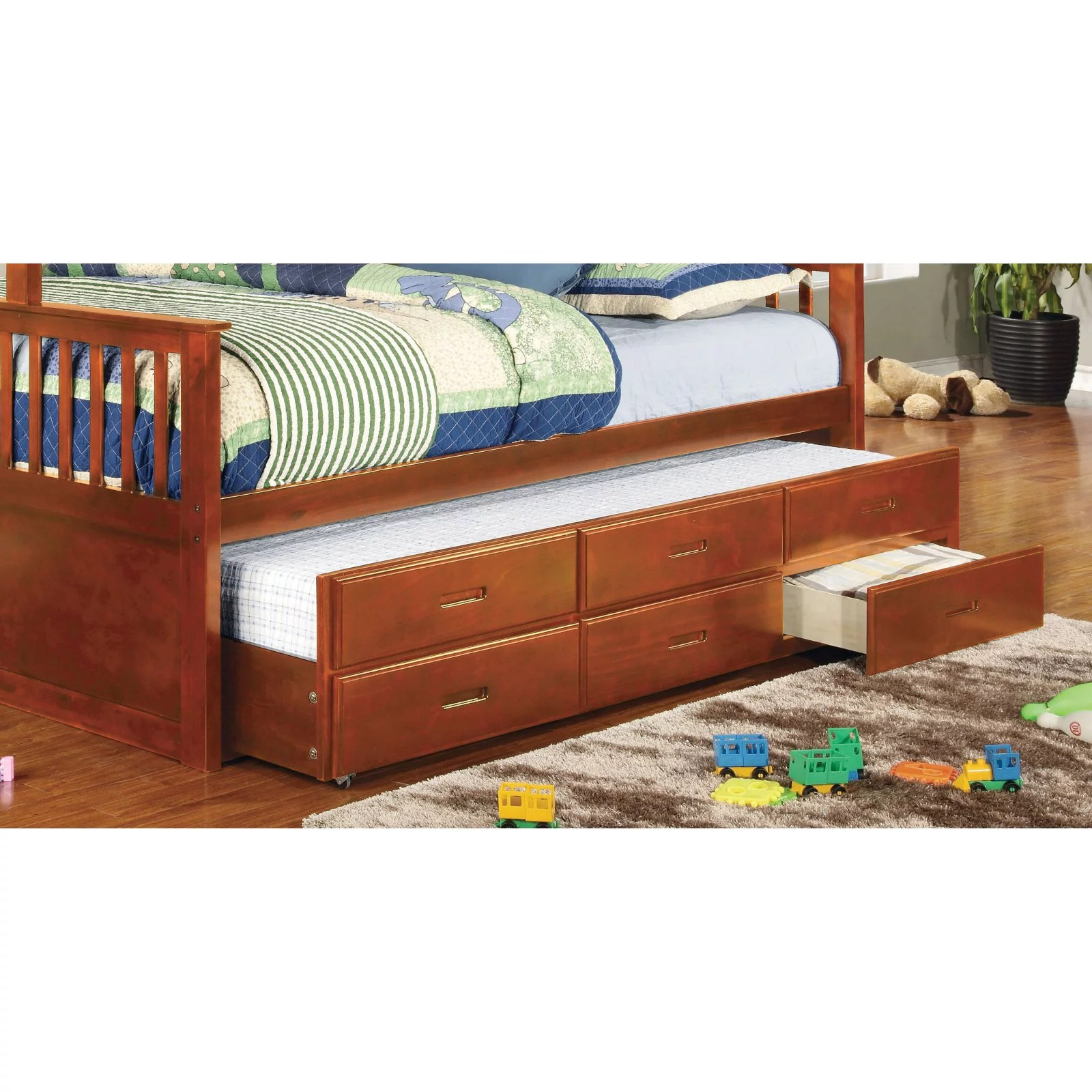 williams twin xl trundle with drawers