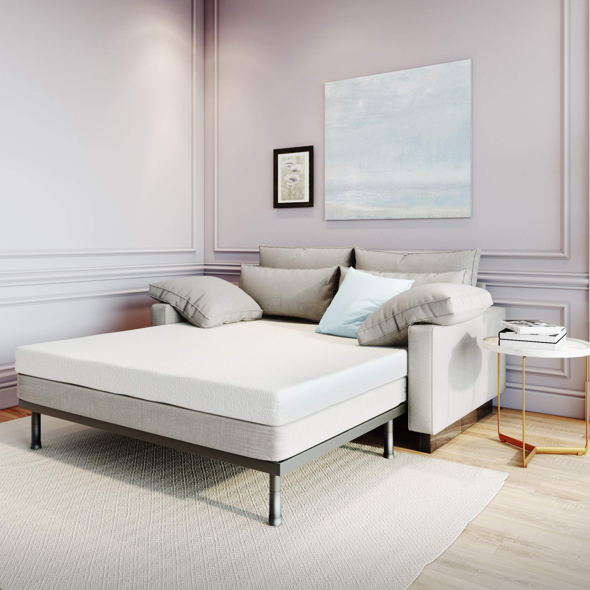 alwyn home olson 4 5 plush memory foam mattress