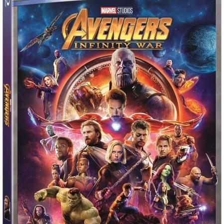 Avengers: Infinity War (Walmart Exclusive) (Blu-ray)