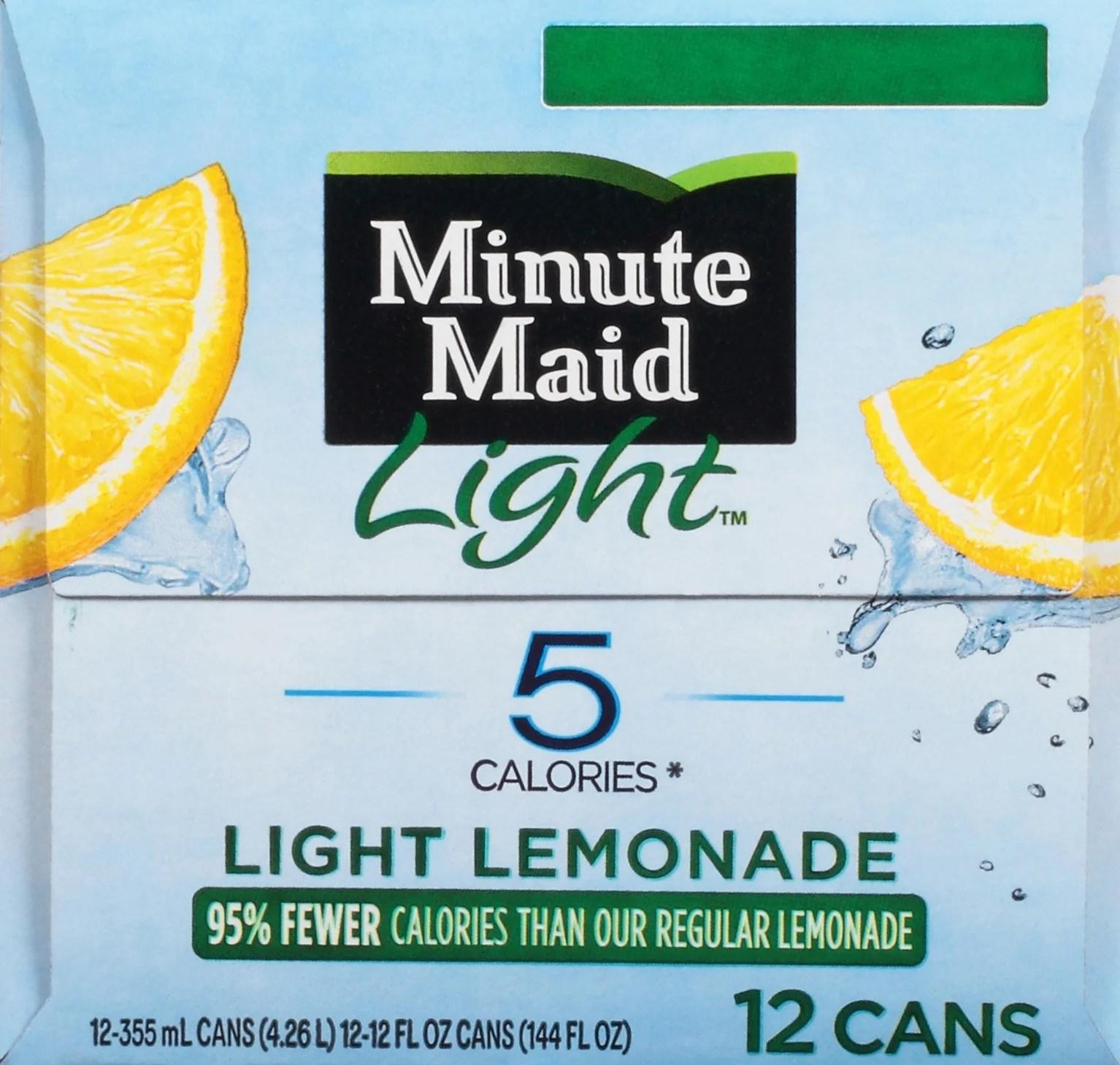 N Out Burger Minute Maid Light Lemonade