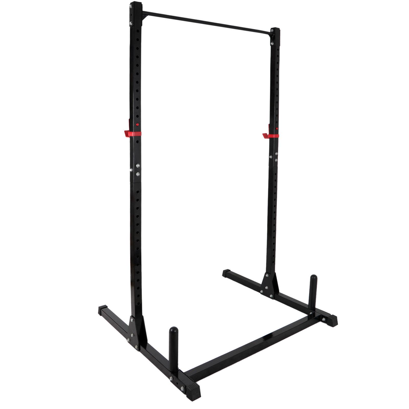 zenstyle exercising fitness workout gym power rack strengthening equipment ergonomic tool indoor bearing 550lb black