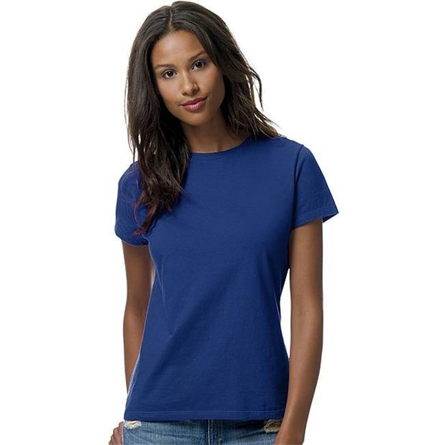 Hanes 078715790530 Womens Nano-T T-Shirt, Deep Royal - 3XL