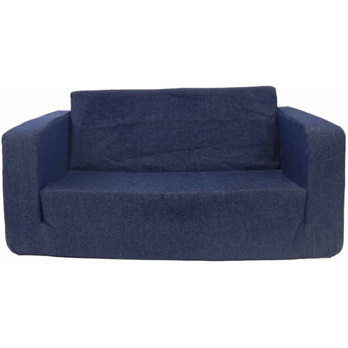 toddler flip sofa denim
