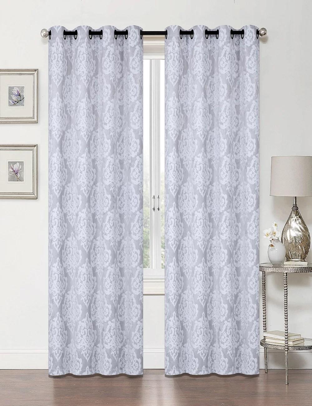 blackout curtains silver walmart com