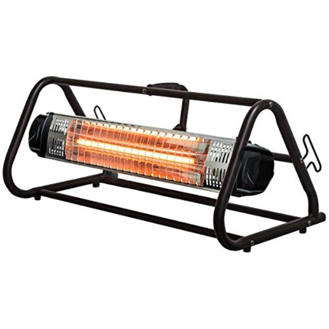 heat storm hs 1500 wrc infrared heater 13 ft cord workspace roll cage walmart com