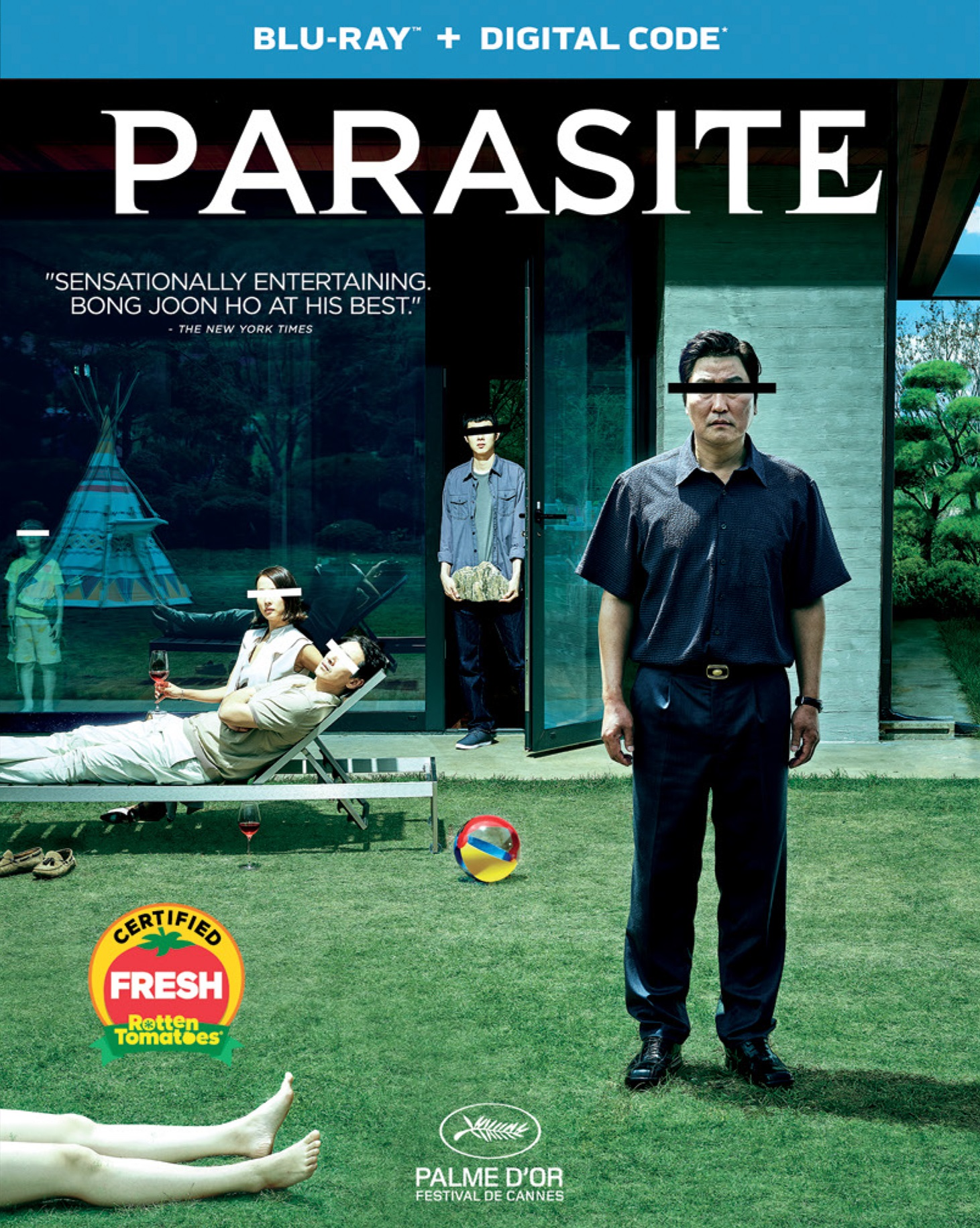 Parasite (Blu-ray + Digital Copy)