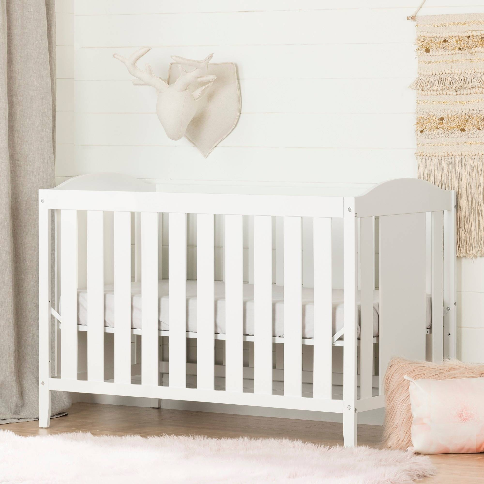 South Shore Angel 2 In 1 Convertible Crib Multiple Finishes