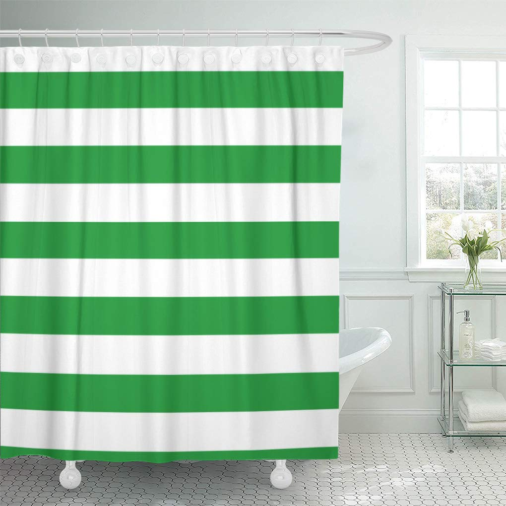 suttom cute kelly green stripes striped pattern girly modern couples shower curtain 60x72 inch walmart com