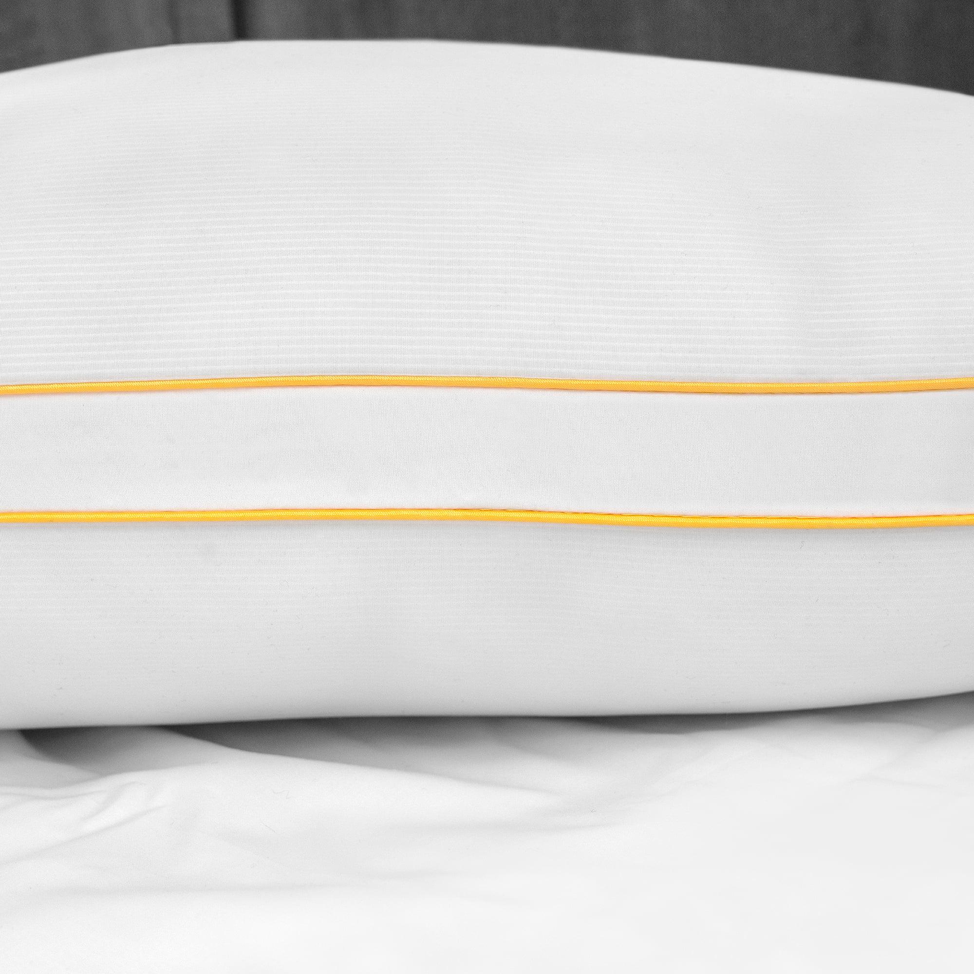 sensorpedic sofloft medium density pillow 2 pack standard