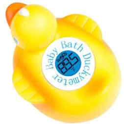 Ozeri Duckymeter, the Baby Bath Floating Toy and Bath Tub Thermometer