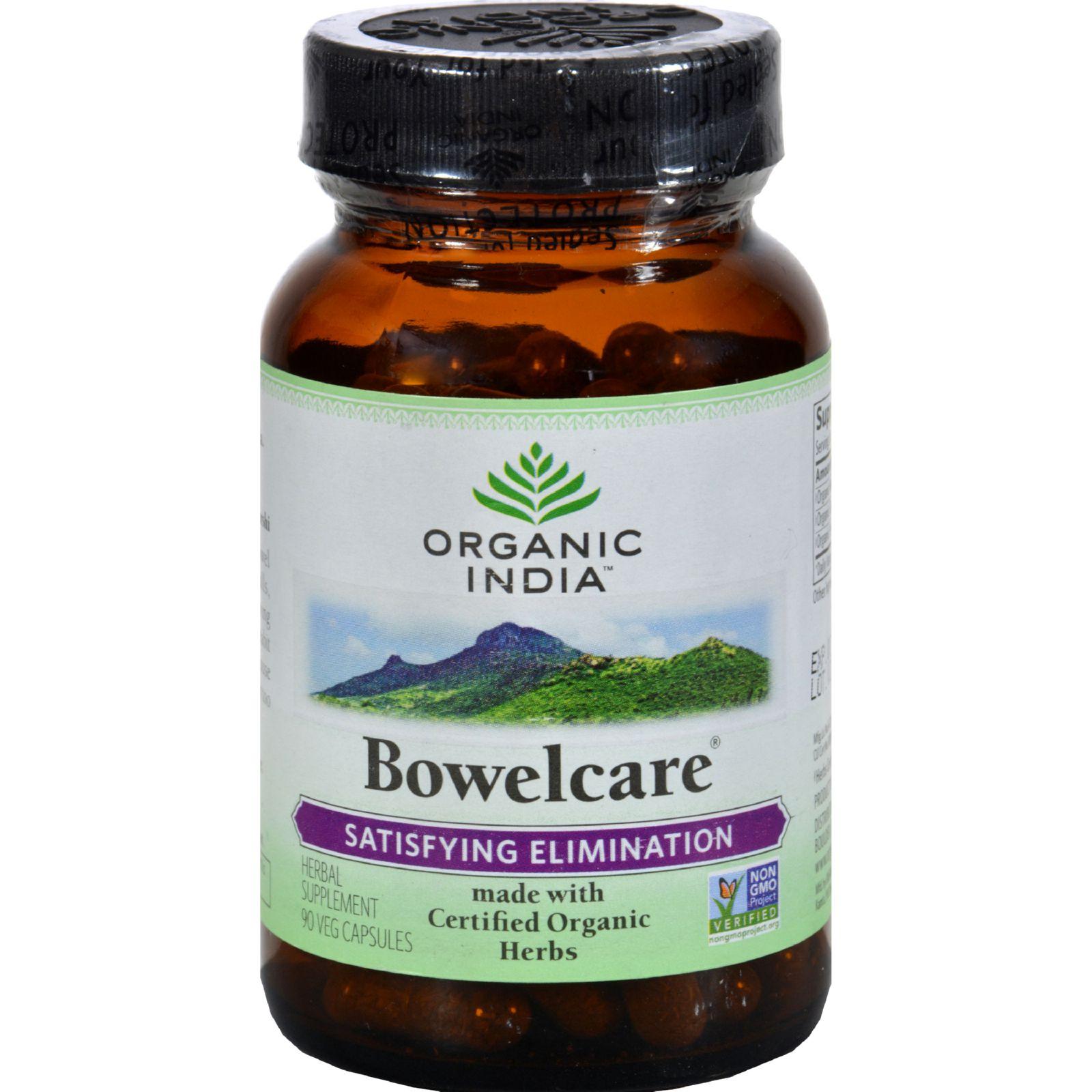 Organic India Bowel Care Formula – 90 Vegetarian Capsules