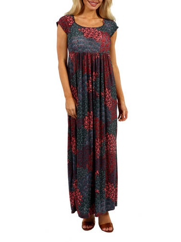 women s red orchid dress