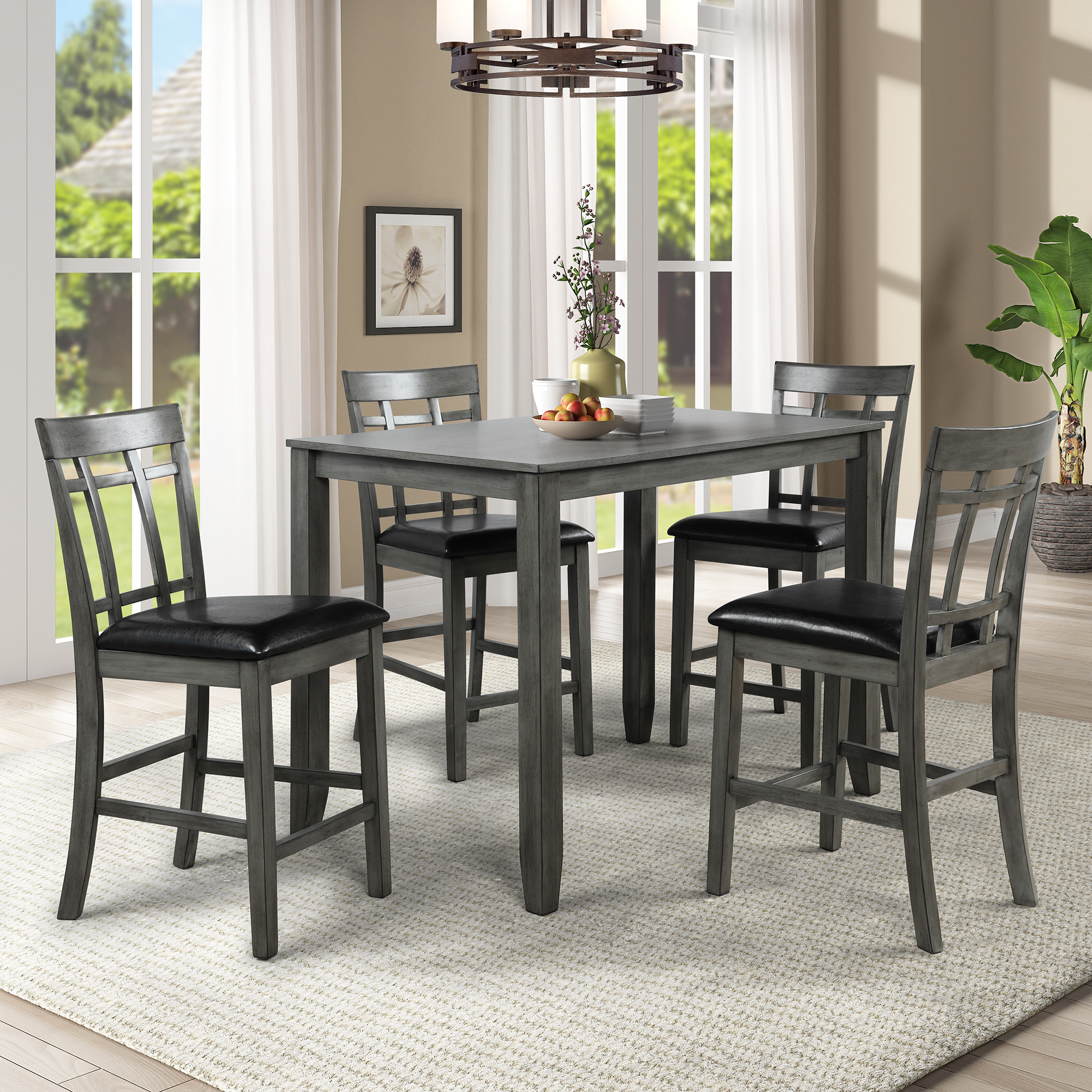 clearance kitchen dining table set 5 piece counter on dining room sets on clearance id=36322