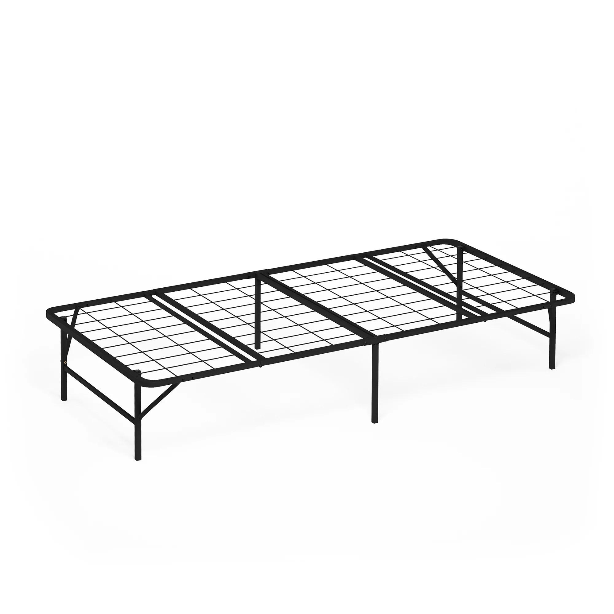 Furinno Angeland Mattress Foundation Platform Metal Bed