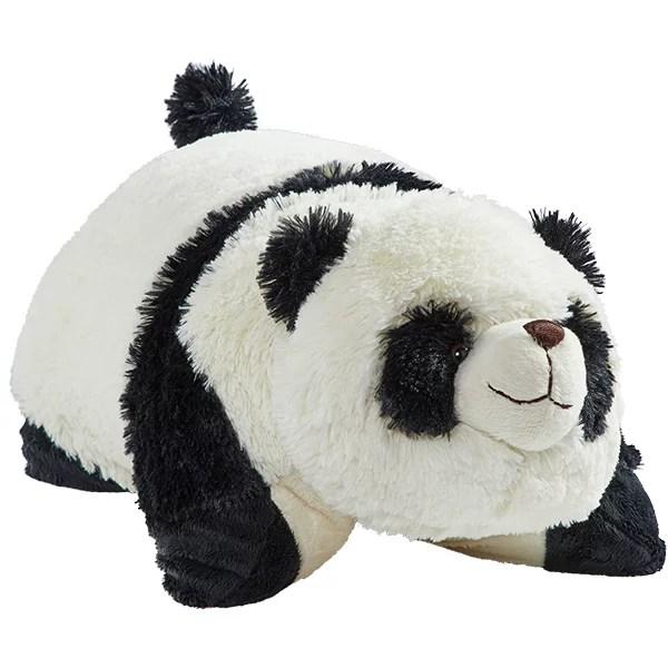 pillow pets 18 signature comfy panda stuffed animal plush toy pillow pet